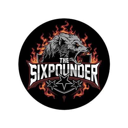 Naklejka THE SIXPOUNDER